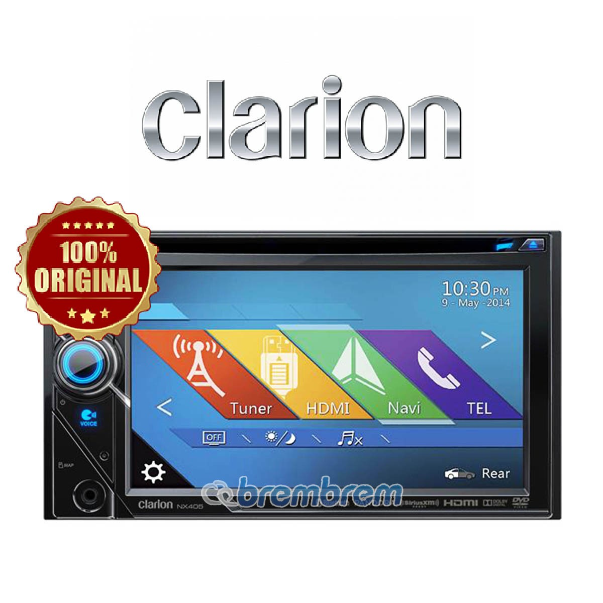 CLARION NX 405A - HEAD UNIT DOUBLE DIN