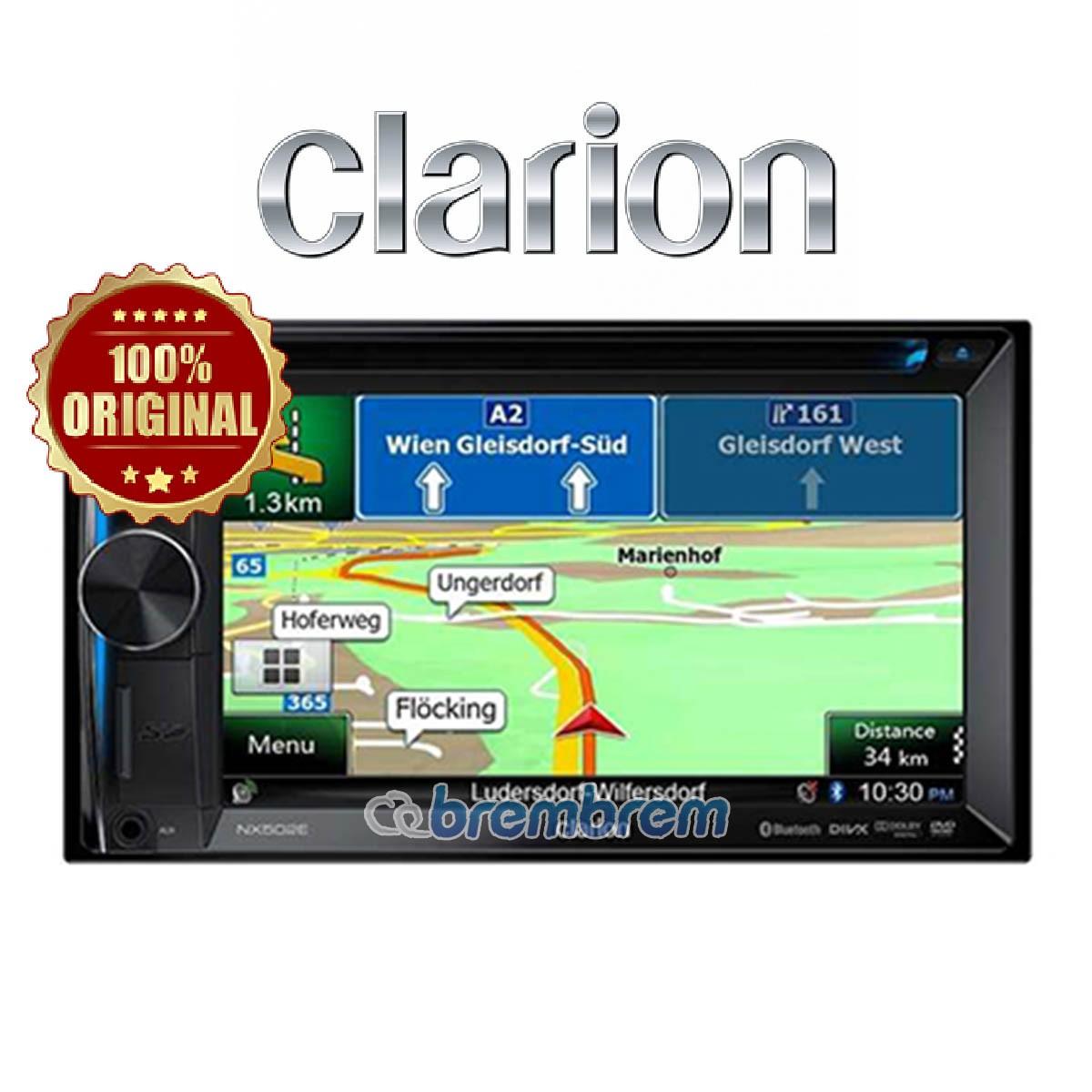CLARION NX 502 A - HEADUNIT DOUBLE DIN