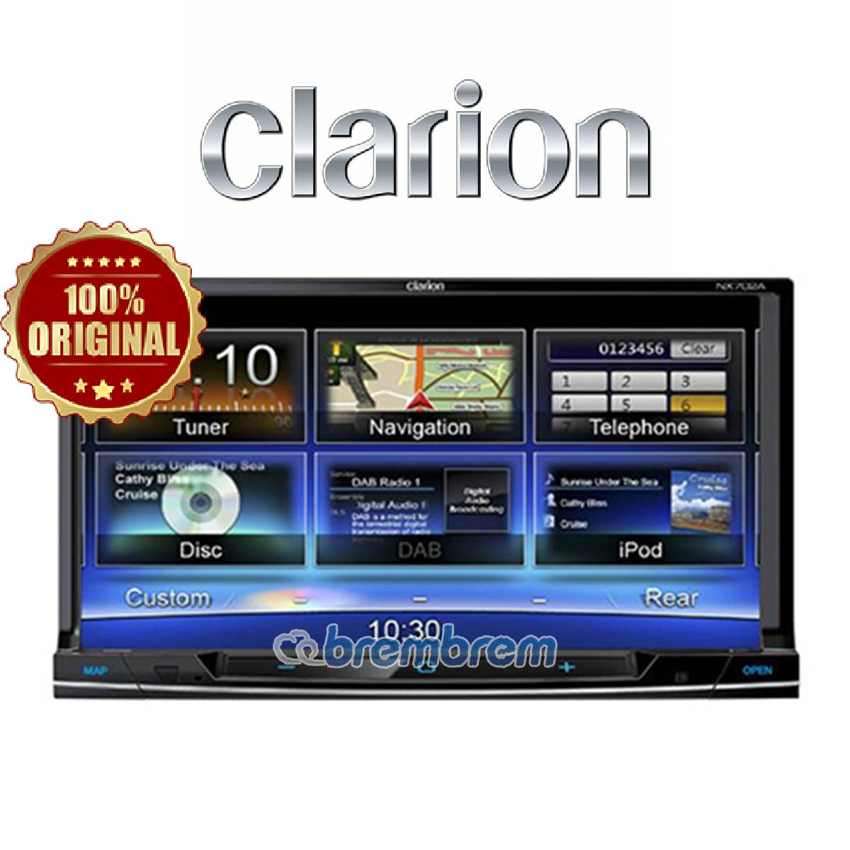 CLARION NX 702 A - HEAD UNIT DOUBLE DIN