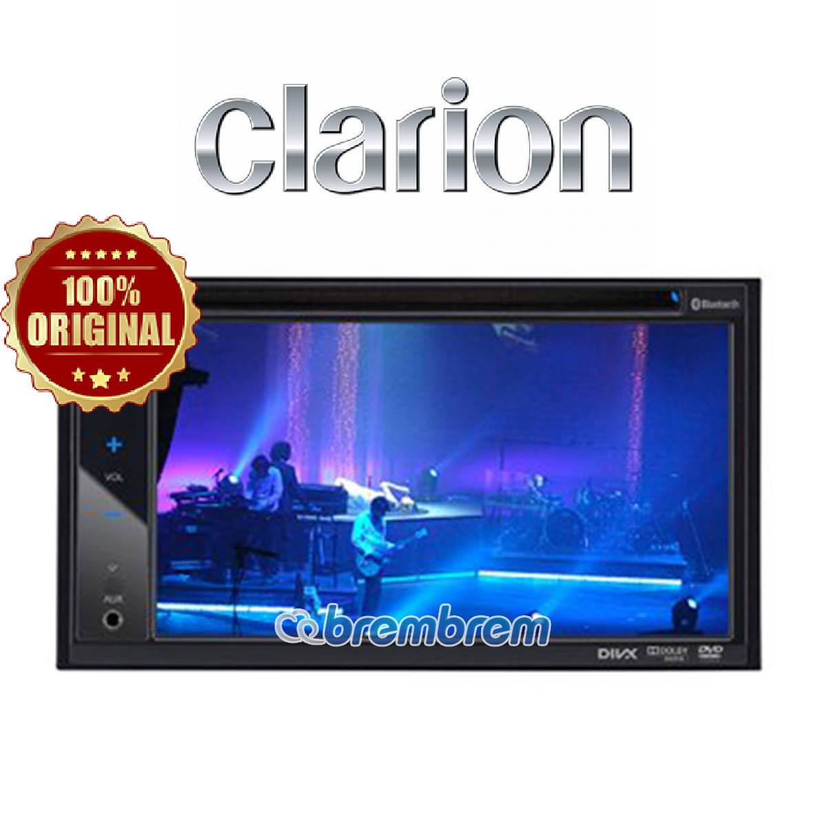 CLARION VX 402 A - HEAD UNIT DOUBLE DIN