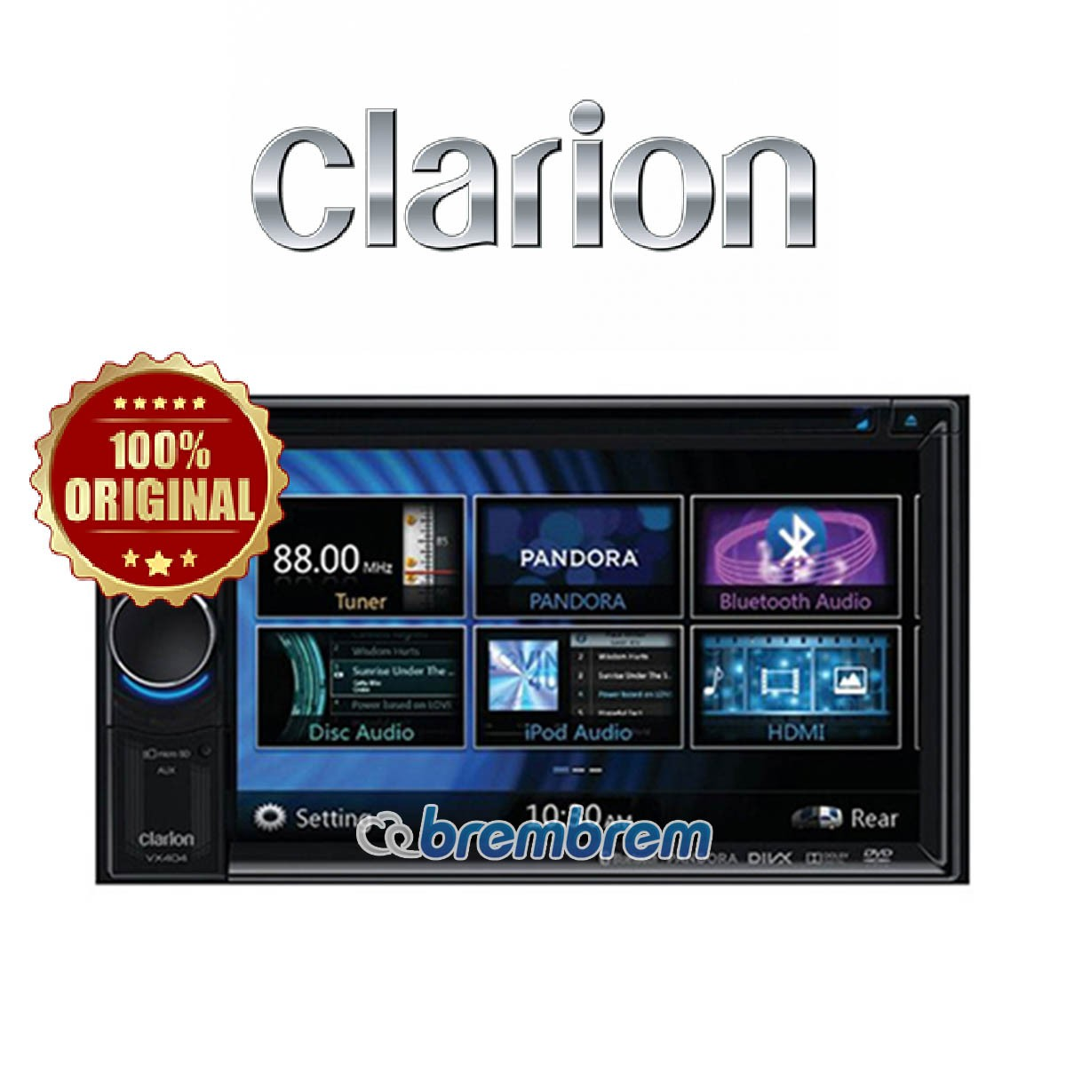 CLARION VX 404 A - HEAD UNIT DOUBLE DIN