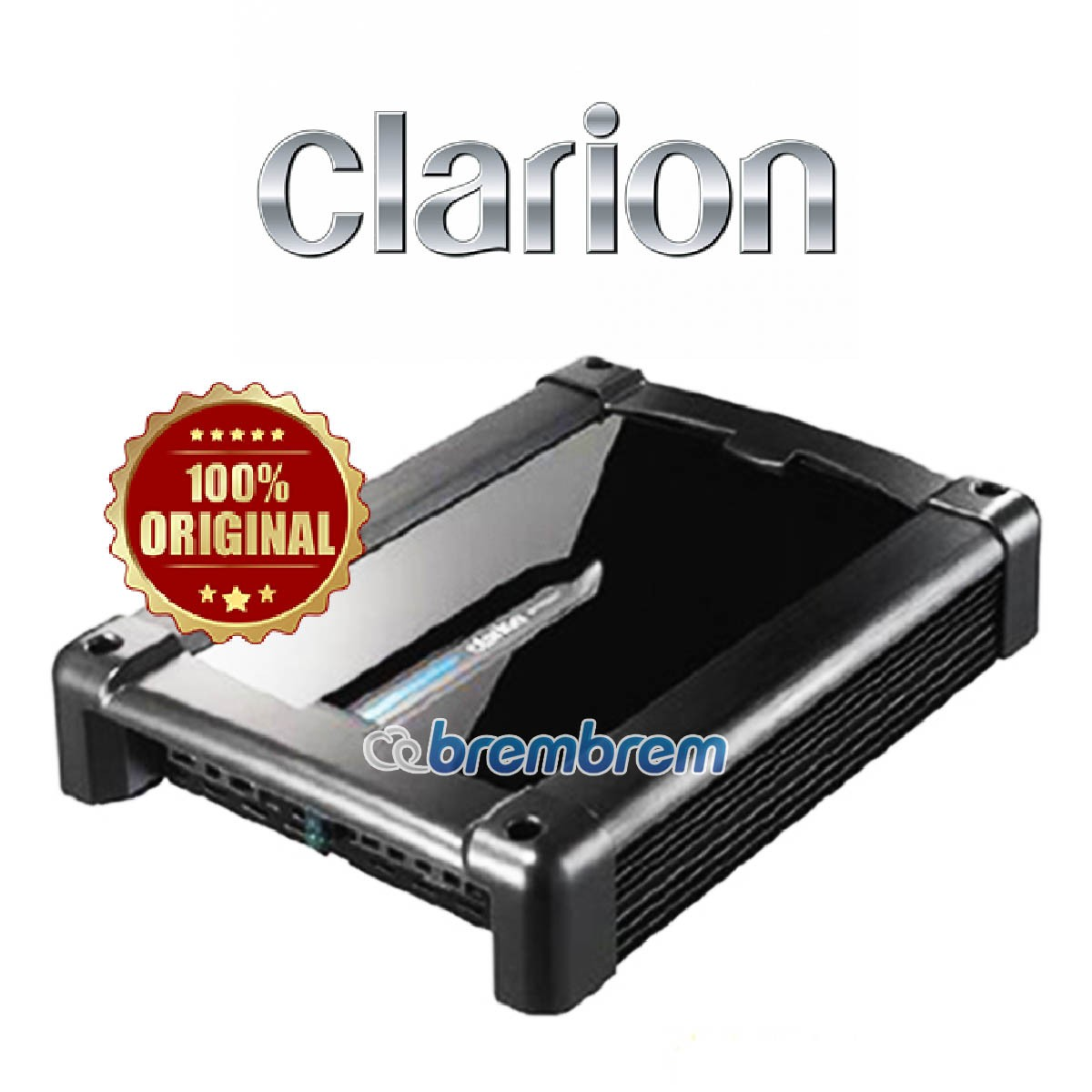 CLARION XR 2220 - POWER 2 CHANNEL