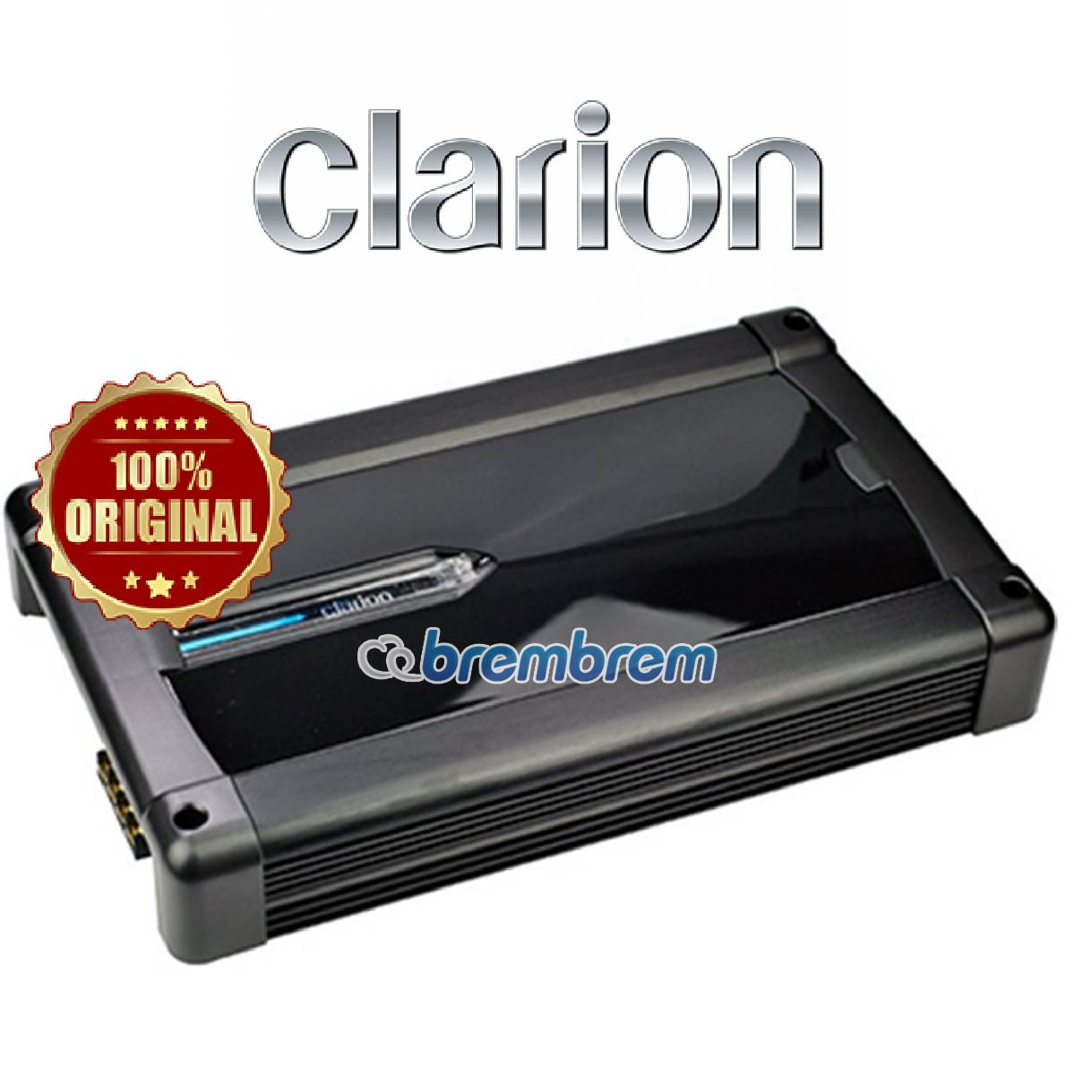 CLARION POWER XR-2420 - POWER 4 CHANNEL