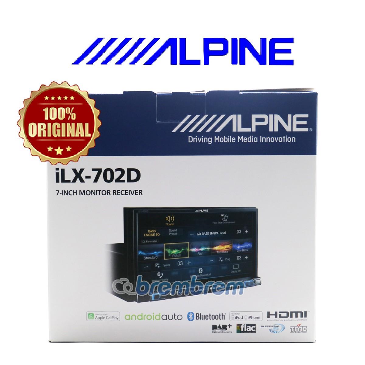 ALPINE iLX-702D - HEADUNIT DOUBLE DIN