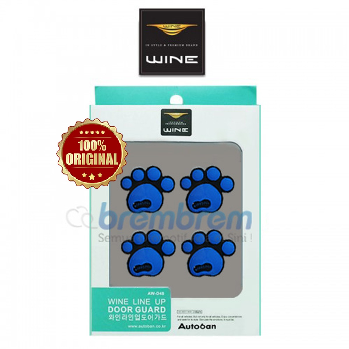 DOOR GUARD WINE LINE UP BIRU