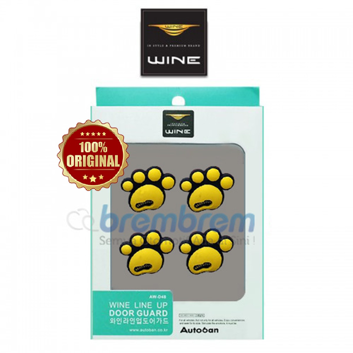 DOOR GUARD WINE LINE UP KUNING
