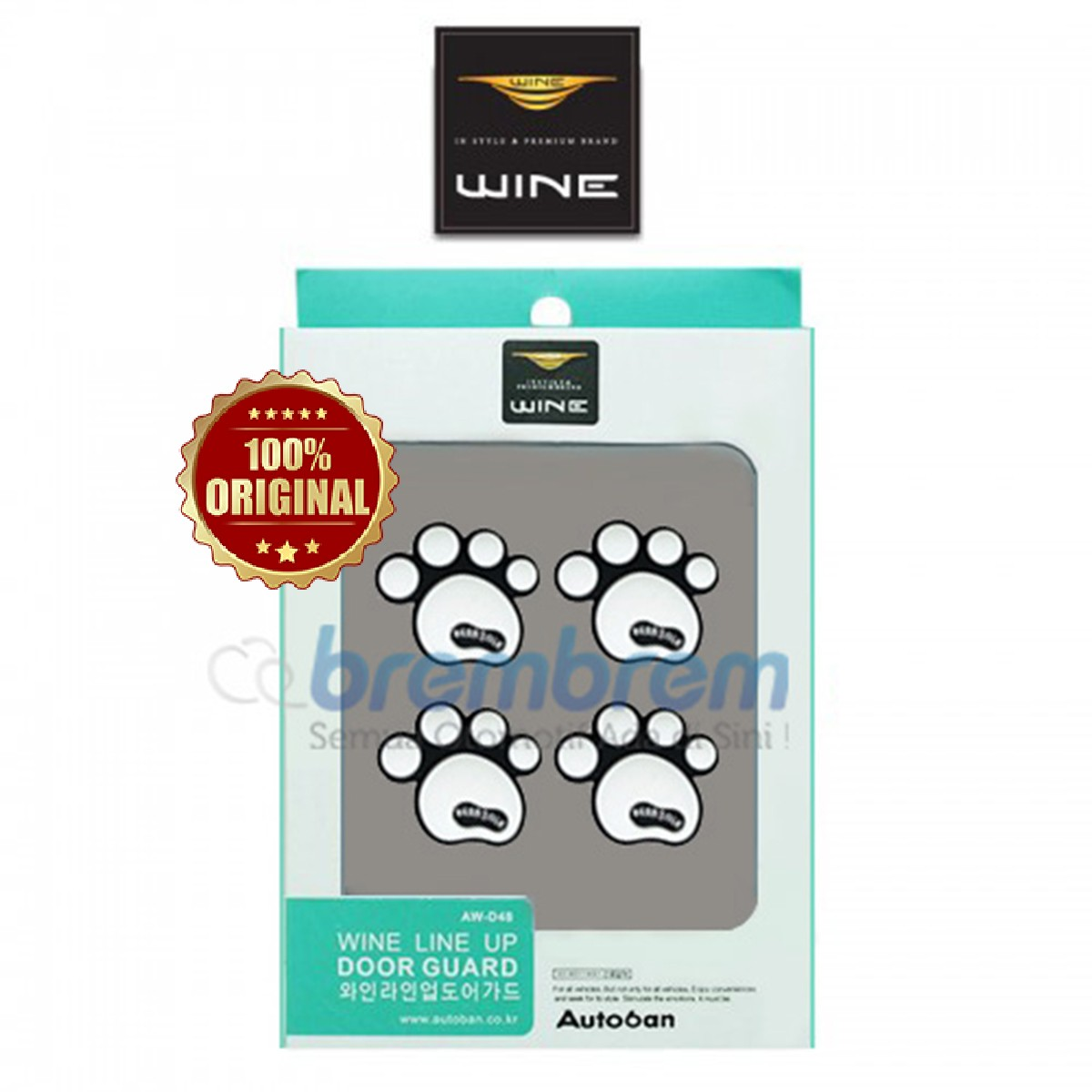 DOOR GUARD WINE LINE UP PUTIH