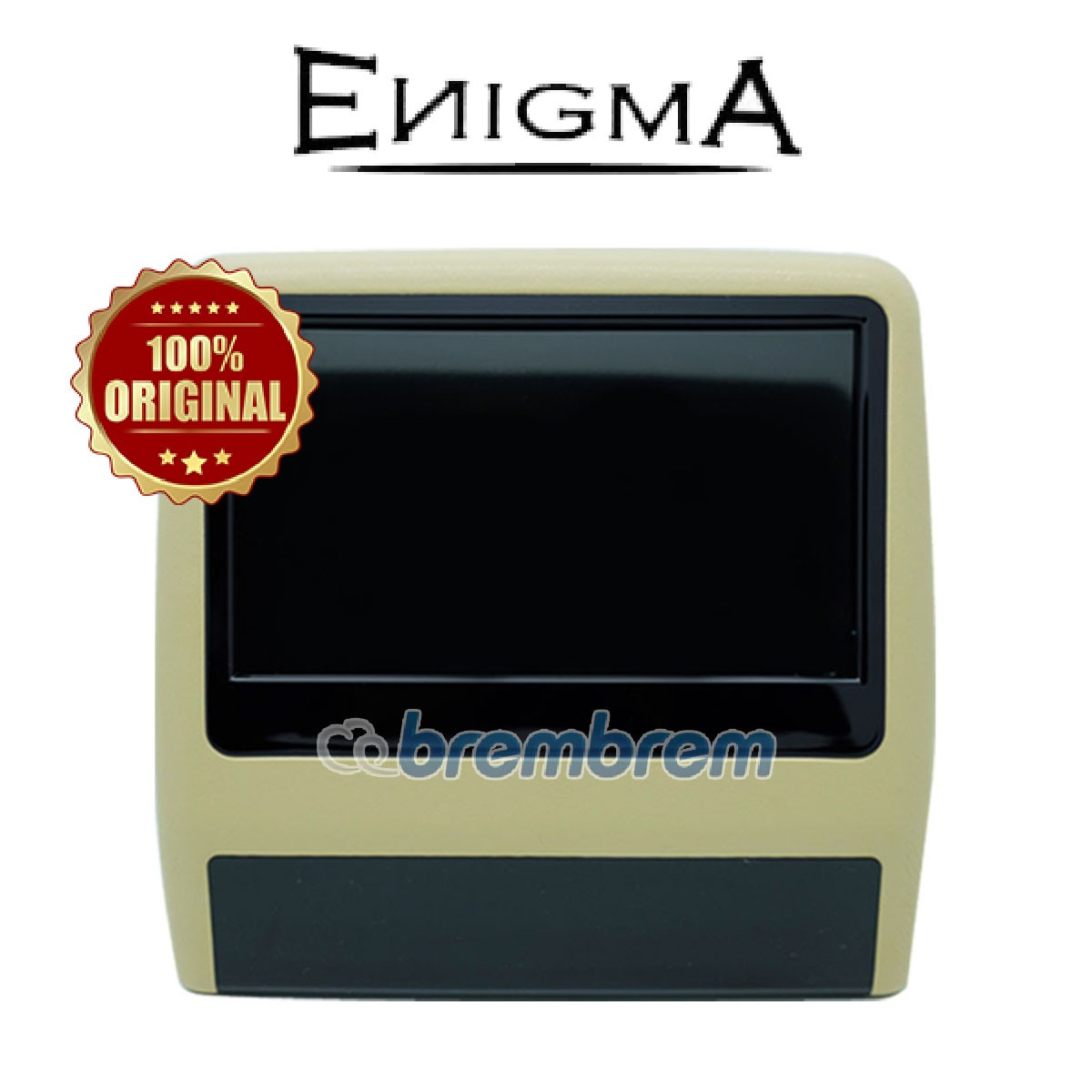 CLEARANCE SALE | ENIGMA EG 9099 - HEADREST CLIPON BEIGE