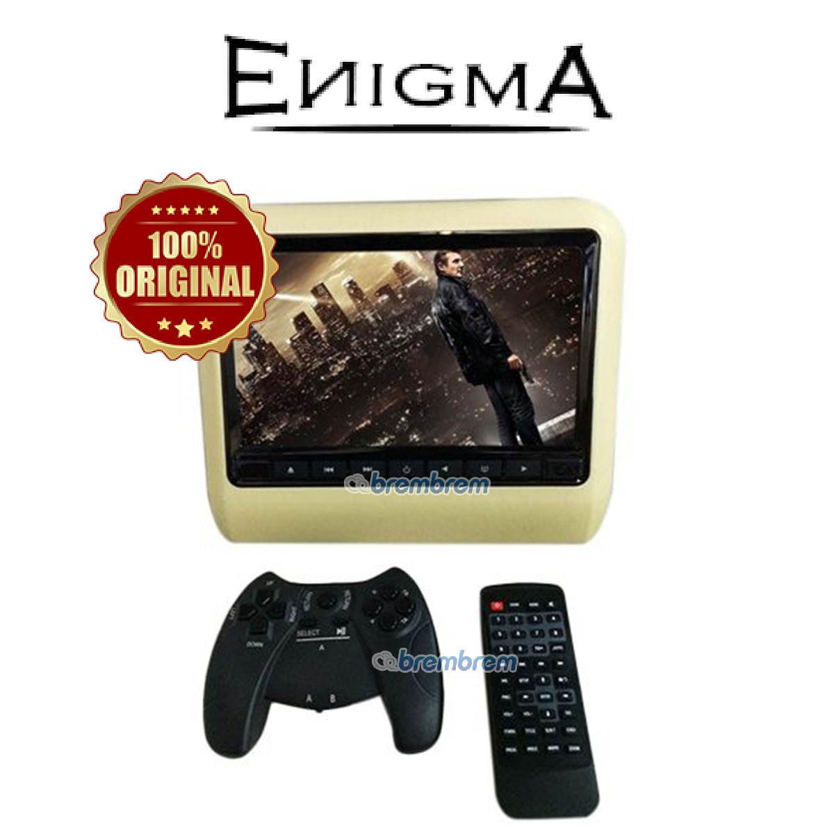 ENIGMA EG 9917 - HEADREST CLIPON BEIGE