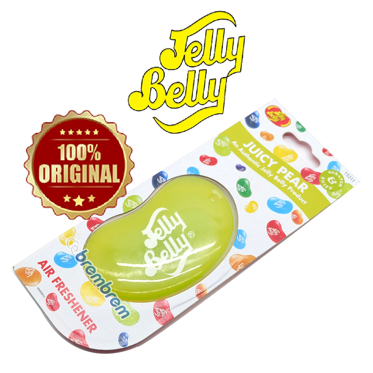 JELLY BELLY AROMA JUICE PEAR - PENGHARUM MOBIL