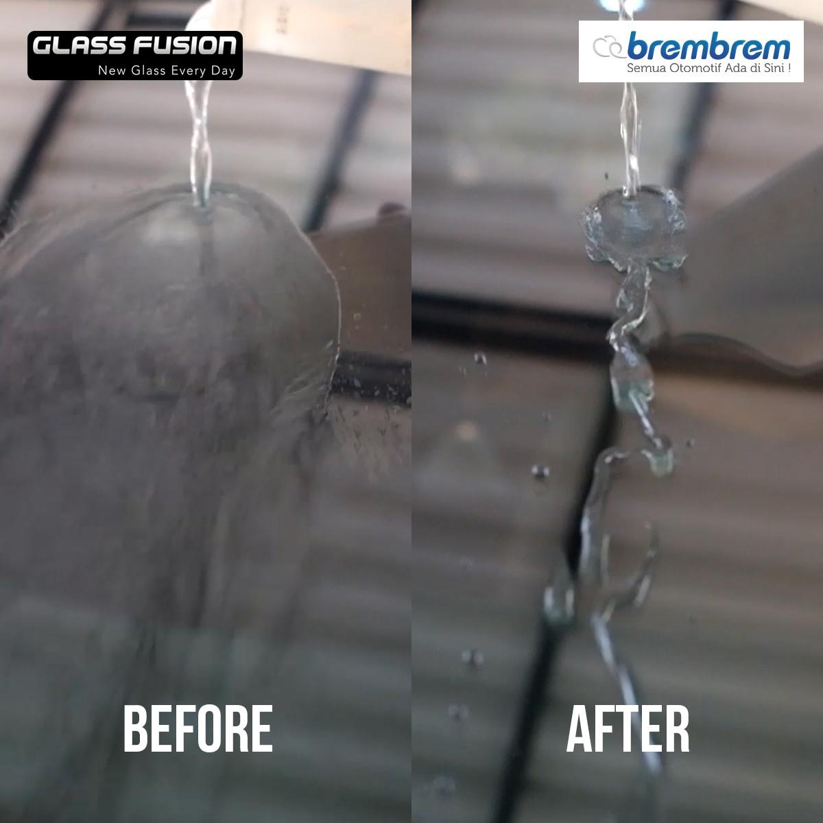 GLASS FUSION - PERAWATAN KACA MOBIL (REGULER | FULL KACA)