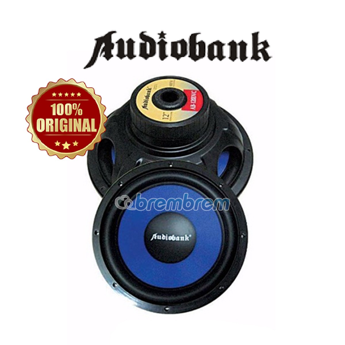 AUDIOBANK AB-120DVC - SUBWOOFER PASIF (PREORDER)