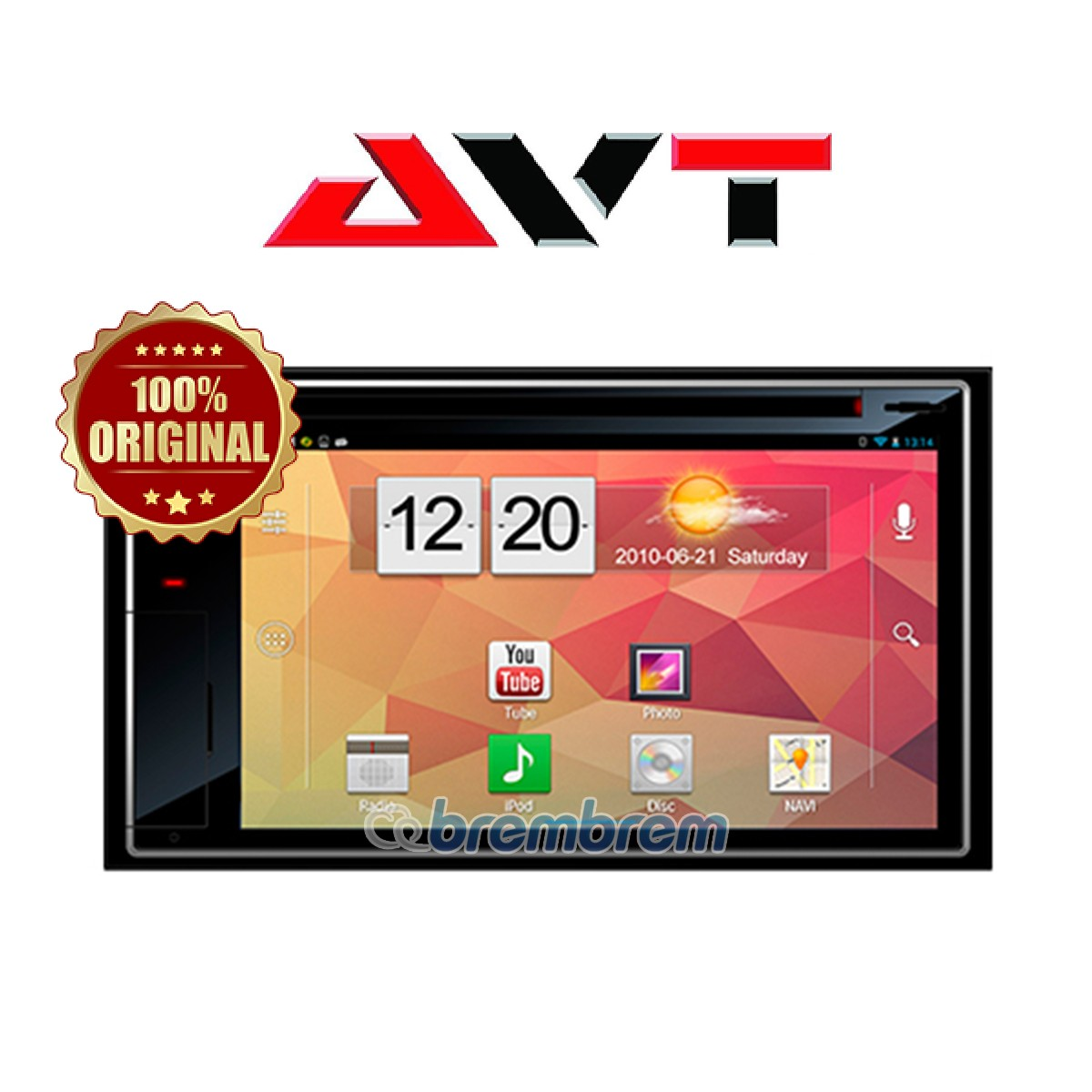 AVT AND 9000 ANDROID - HEADUNIT DOUBLE DIN