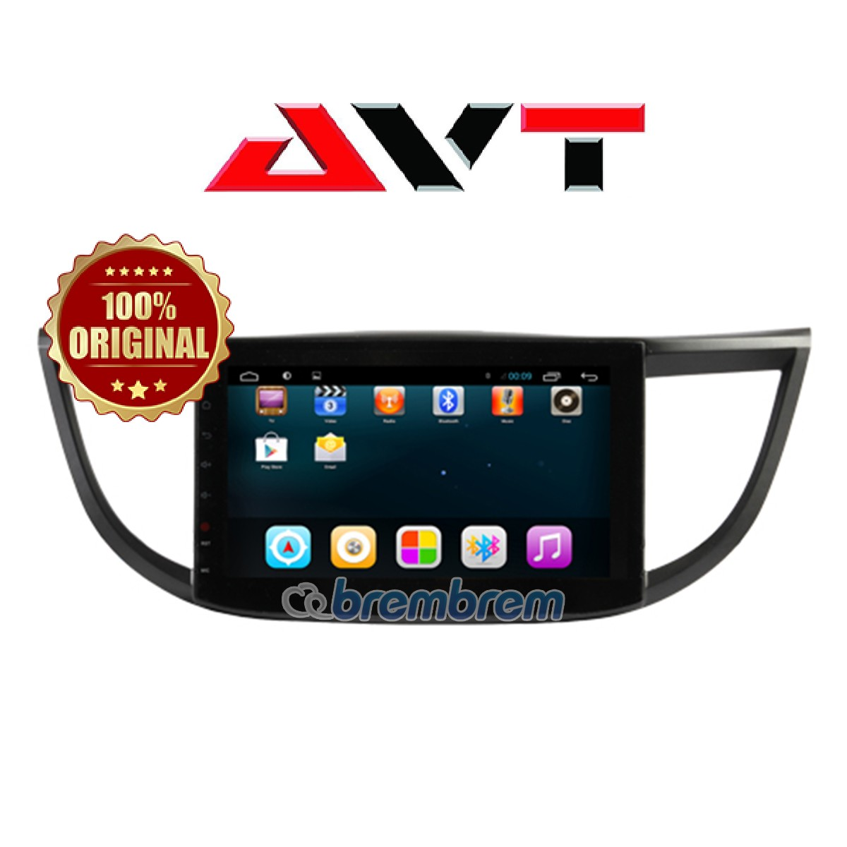 AVT ANDROID FOR HONDA ALL NEW CRV 2012-2015- HEADUNIT OEM