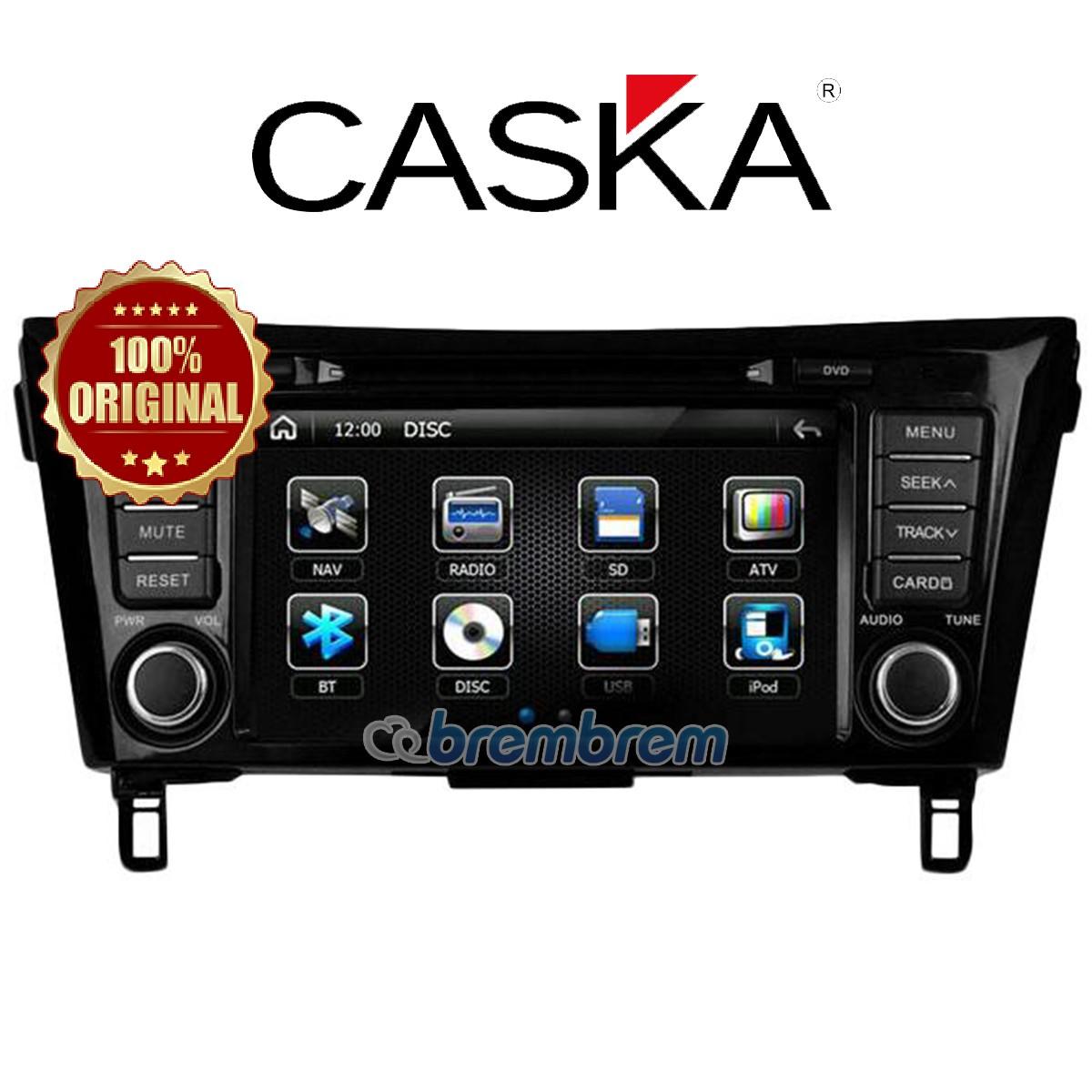CASKA NISSAN XTRAIL (2014-2016) - HEADUNIT OEM