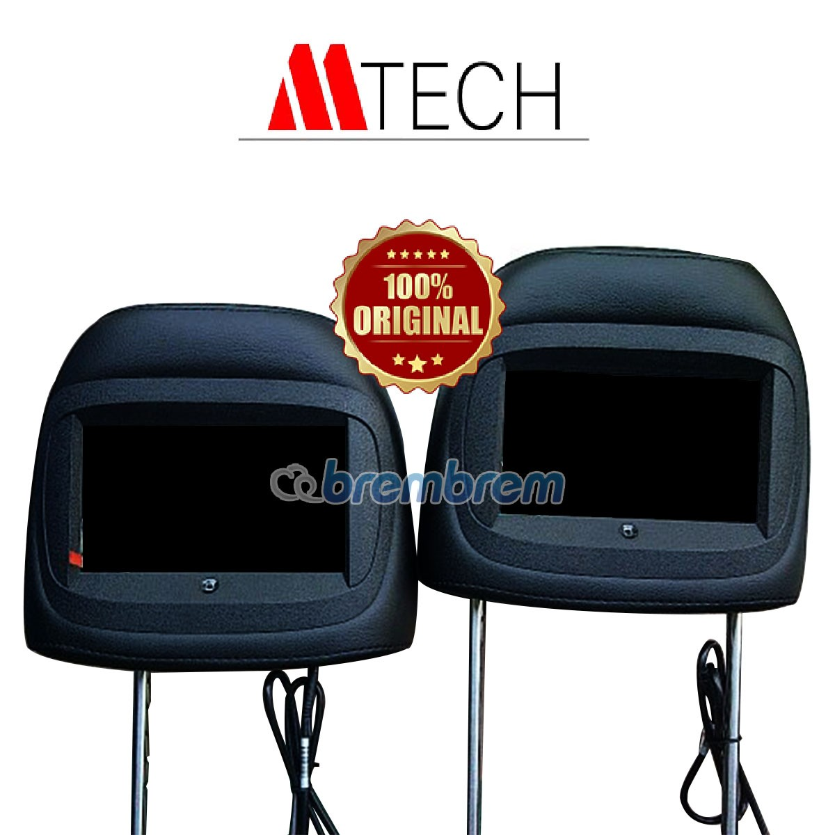 MTECH MH 7022 BLACK - HEADREST MONITOR