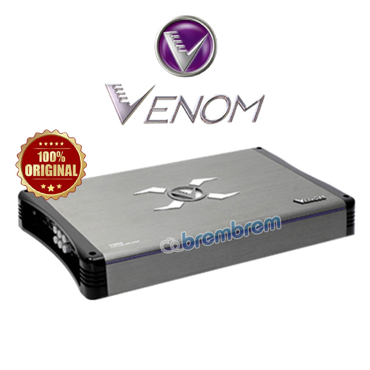 NEW VENOM X SERIES V480XII - POWER 4 CHANNEL