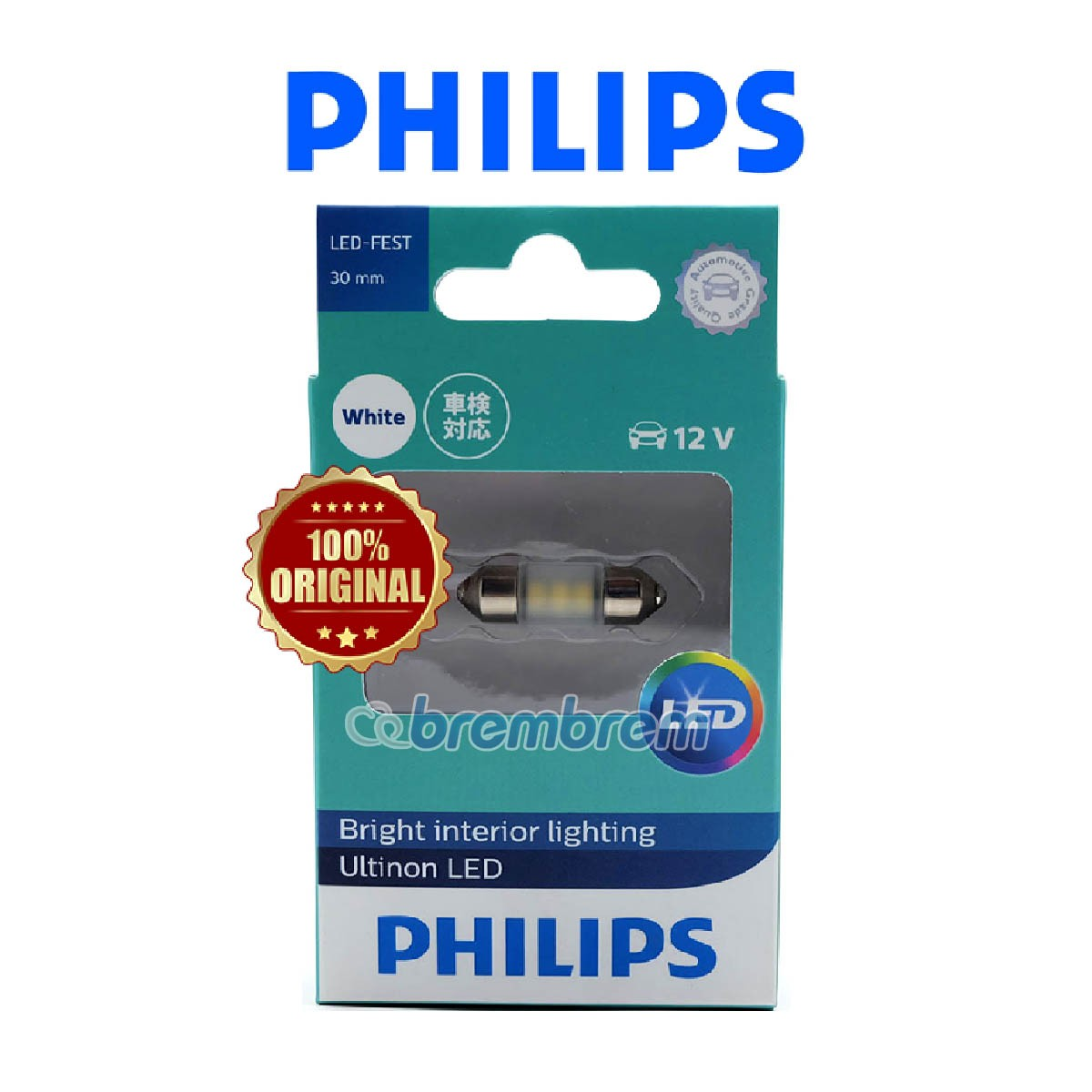 PHILIPS ULTINON FESTOON - LAMPU LED