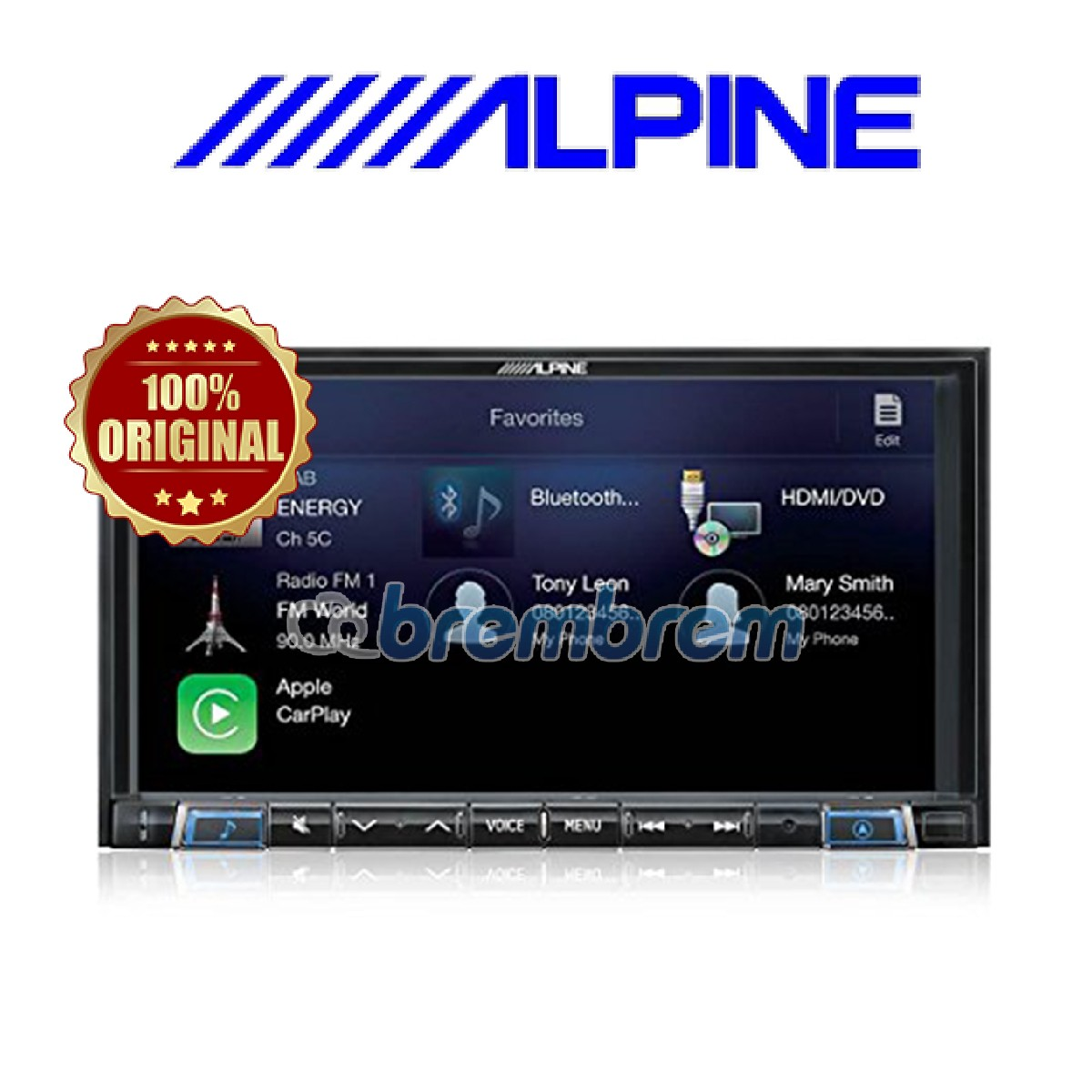 ALPINE iLX-702D - HEADUNIT DOUBLE DIN