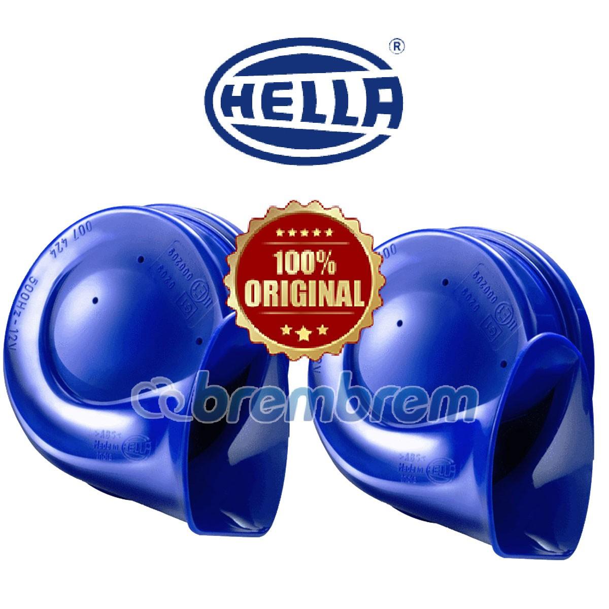 HELLA BLUE TWIN TONE - KLAKSON MOBIL