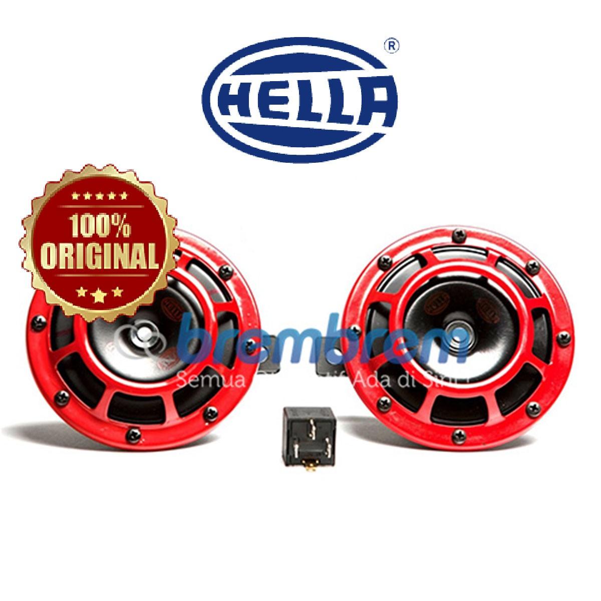 HELLA RED SUPER TONE - KLAKSON MOBIL