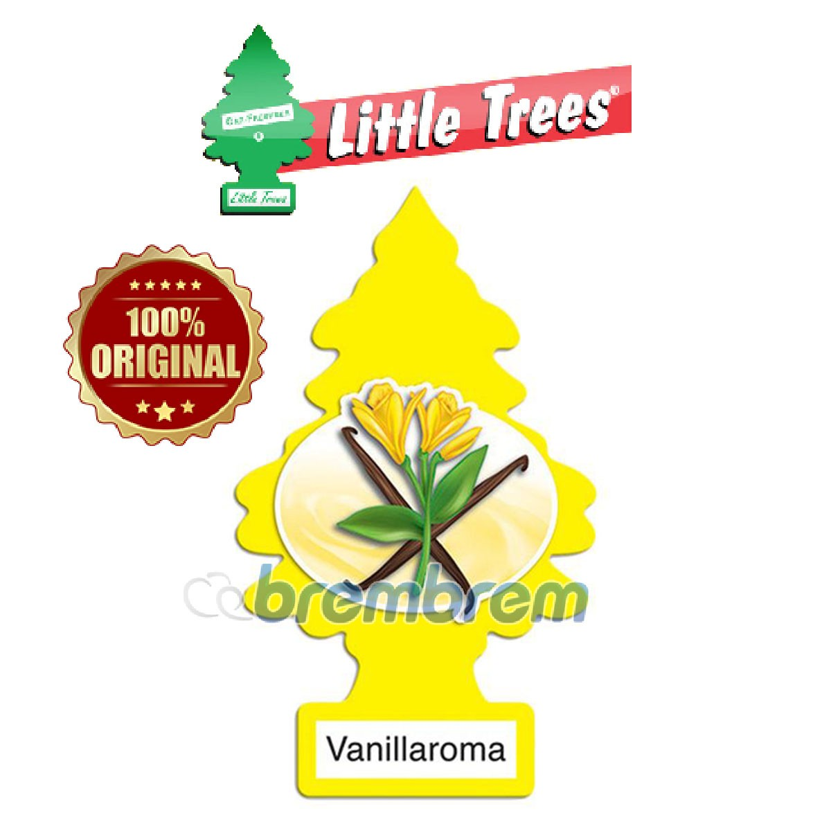 LITTLE TREES VANILLAROMA - PENGHARUM MOBIL
