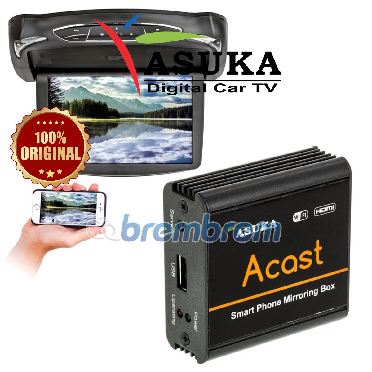 ASUKA ACAST MIRRORING BOX