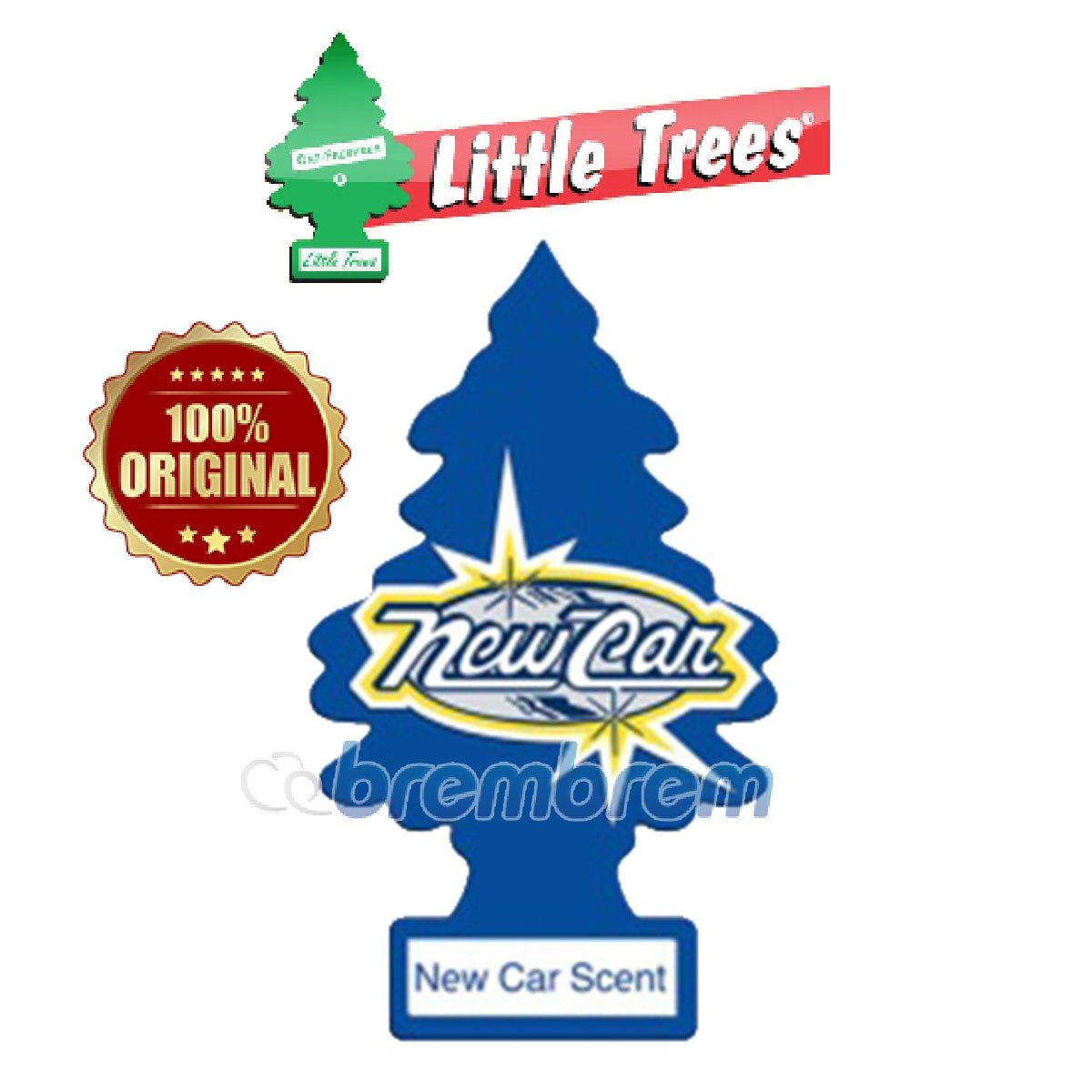 LITTLE TREES NEW CAR SCENTS - PENGHARUM MOBIL