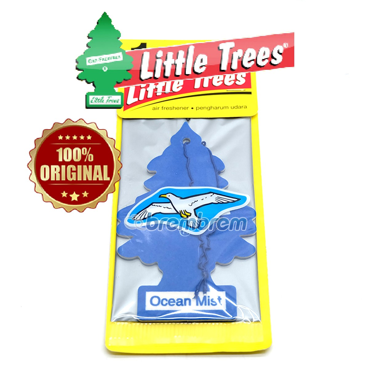 LITTLE TREES OCEAN MIST - PENGHARUM MOBIL