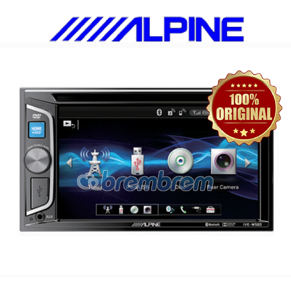 ALPINE IVE-W560E - HEADUNIT DOUBLE DIN