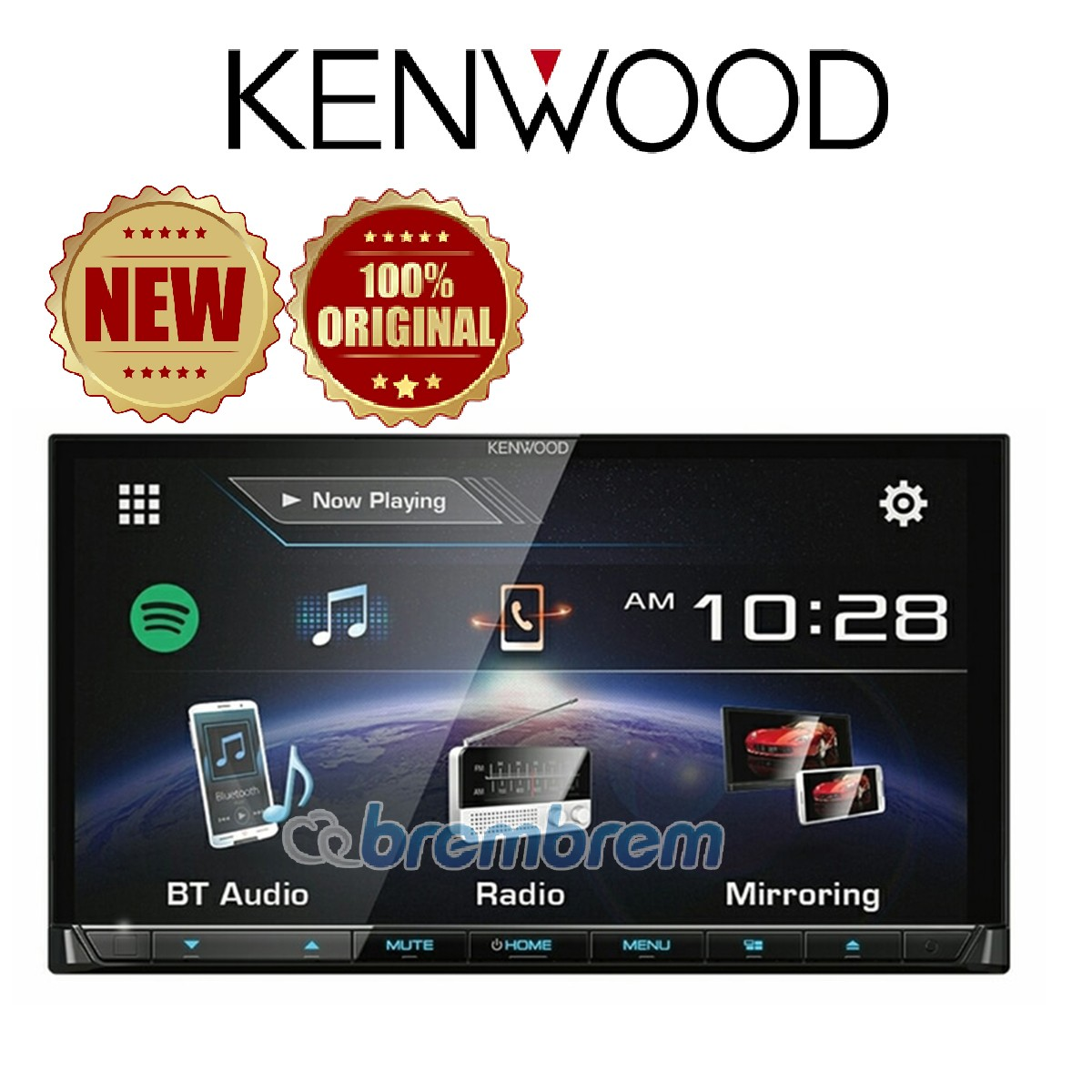 KENWOOD DDX 7018BT - HEAD UNIT DOUBLE DIN