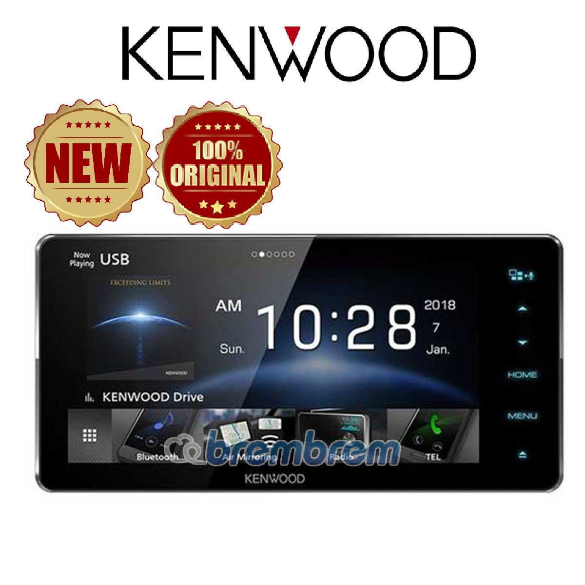 KENWOOD DDX918WS - HEAD UNIT DOUBLE DIN
