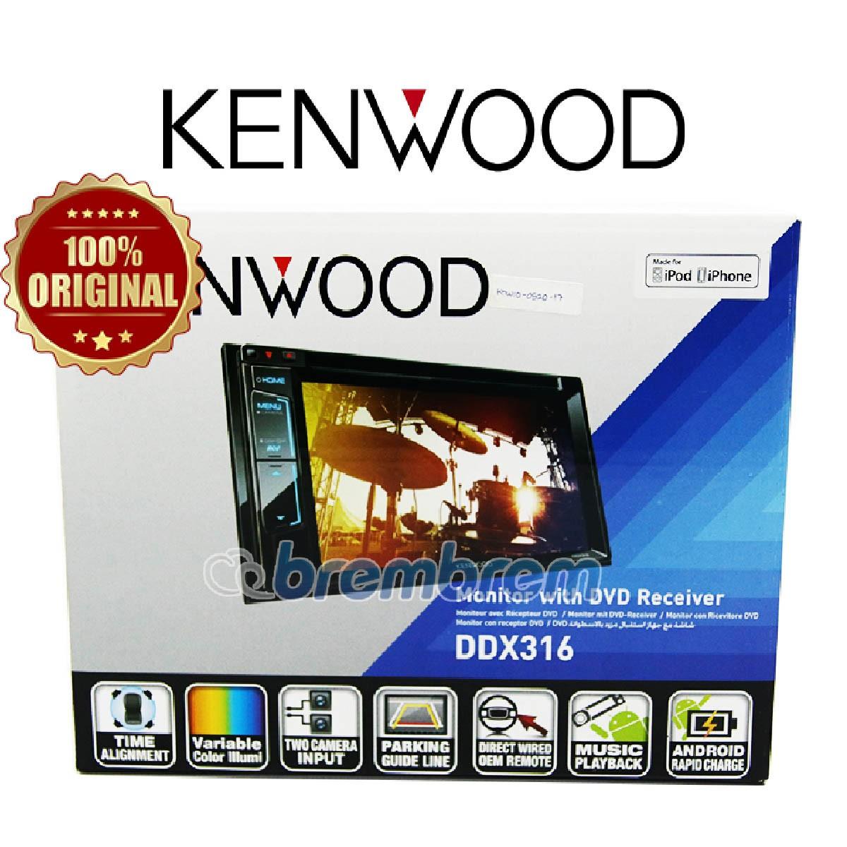KENWOOD DDX316 - HEADUNIT DOUBLE DIN