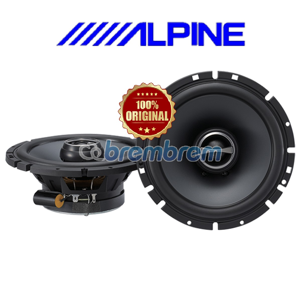 ALPINE SPS 610 - SPEAKER COAXIAL