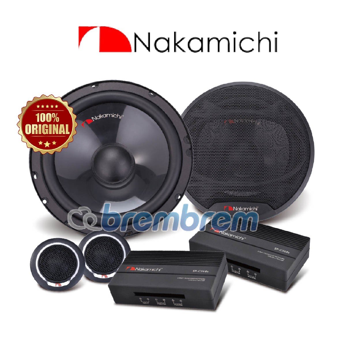 NAKAMICHI SP-CS68S - SPEAKER 2 WAY (PREORDER)