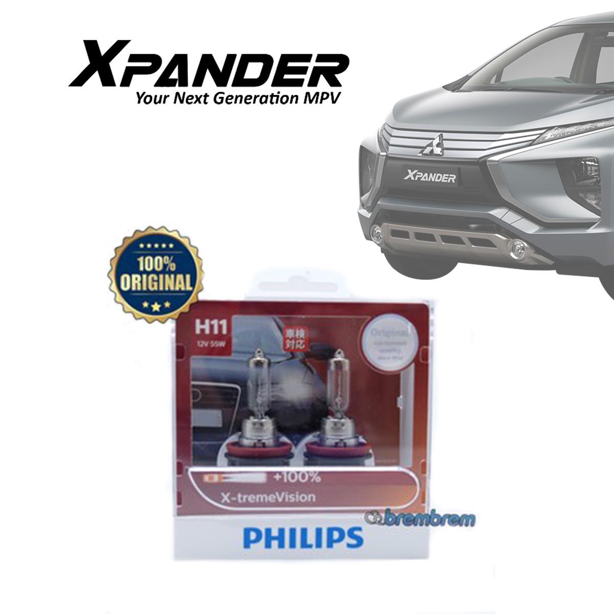 PHILIPS XTREME VISION H11 (3700K) - LAMPU HALOGEN MITSUBISHI XPANDER