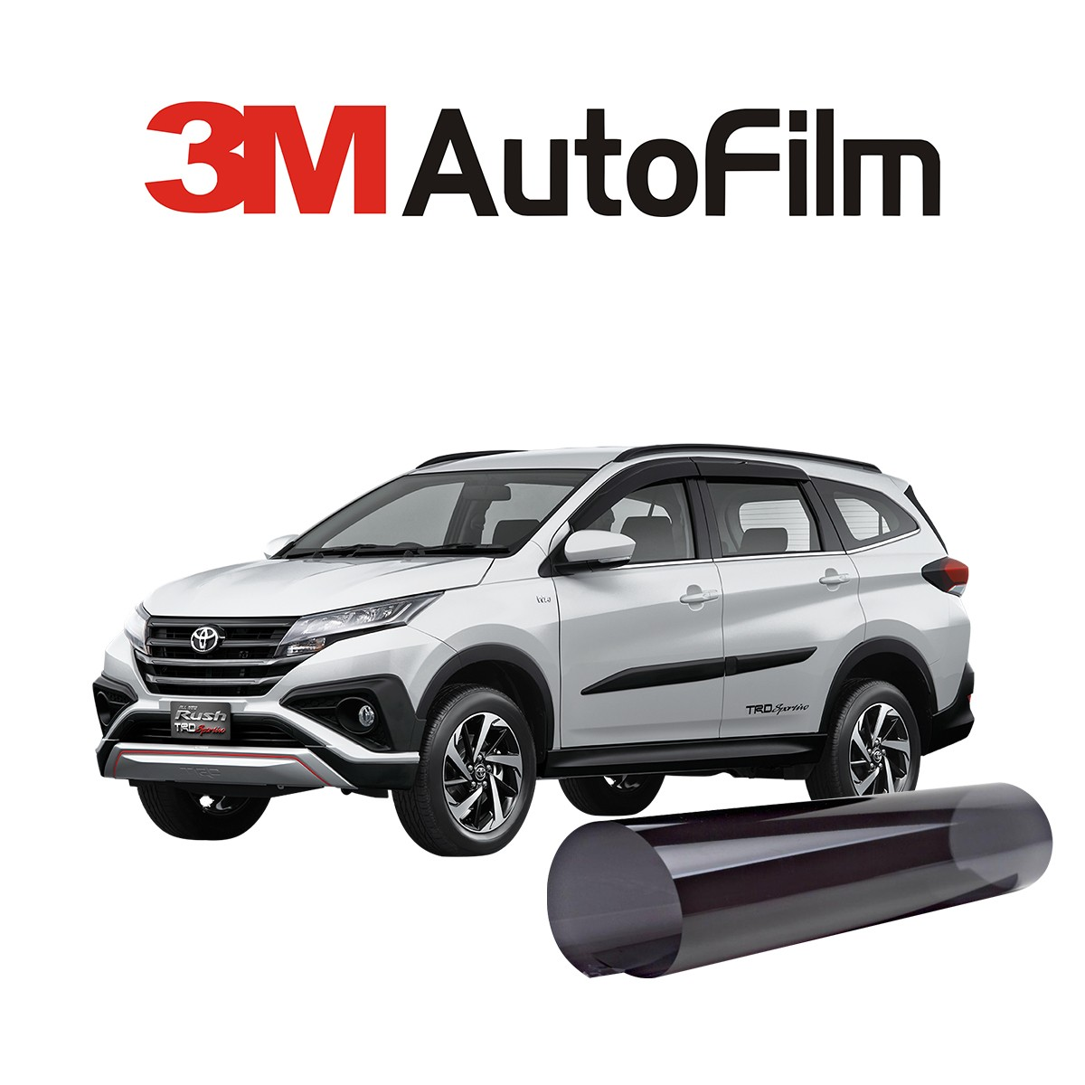 KACA FILM 3M BLACK BEAUTY - (TOYOTA ALL NEW RUSH) KACA SAMPING BELAKANG