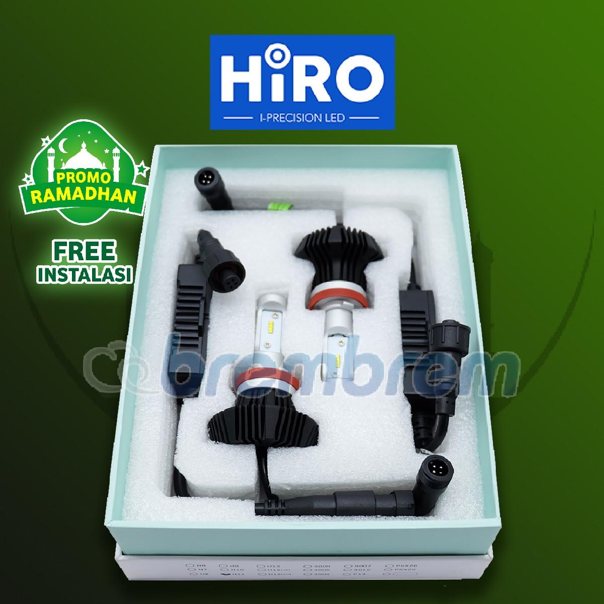MUDIK BARENG | HIRO i-PRECISION H11 - LAMPU LED MOBIL