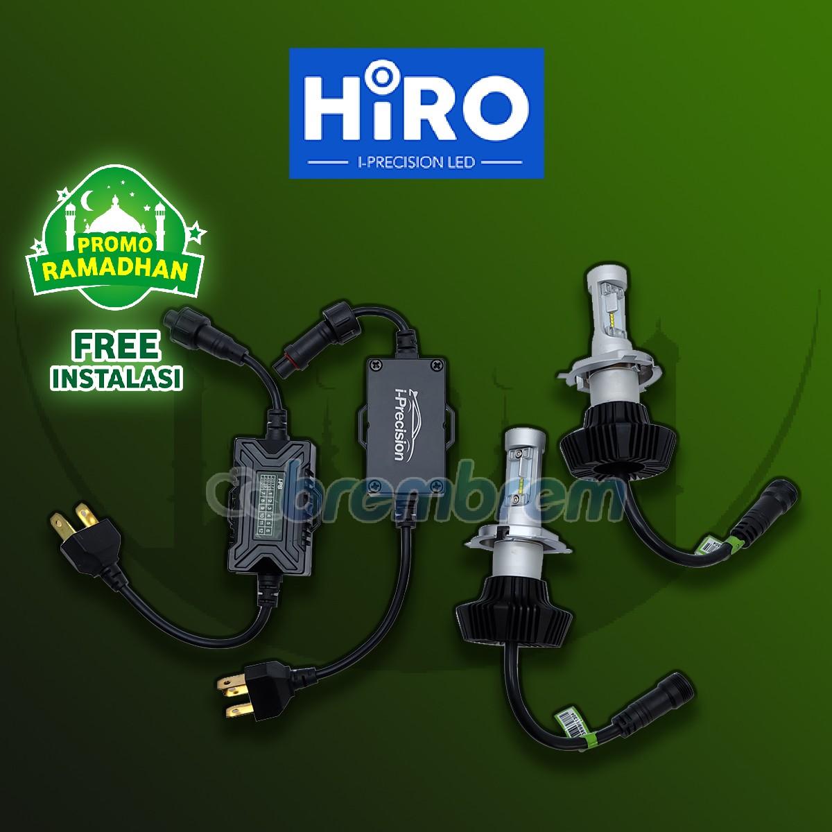 MUDIK BARENG | HIRO i-PRECISION H4 - LAMPU LED MOBIL