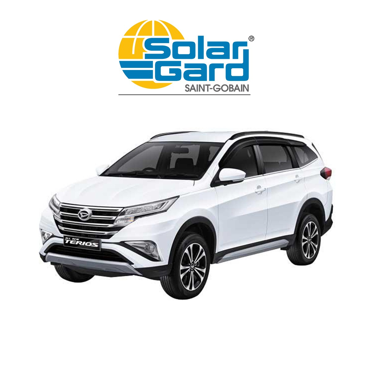 KACA FILM SOLAR GARD MOST FAVORITE - (DAIHATSU ALL NEW TERIOS) FULL KACA