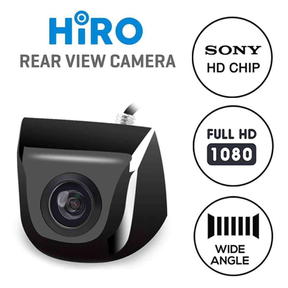 Kamera Mundur Mobil HIRO - Sony Chip High Def 1080 - Jernih Wide Angle
