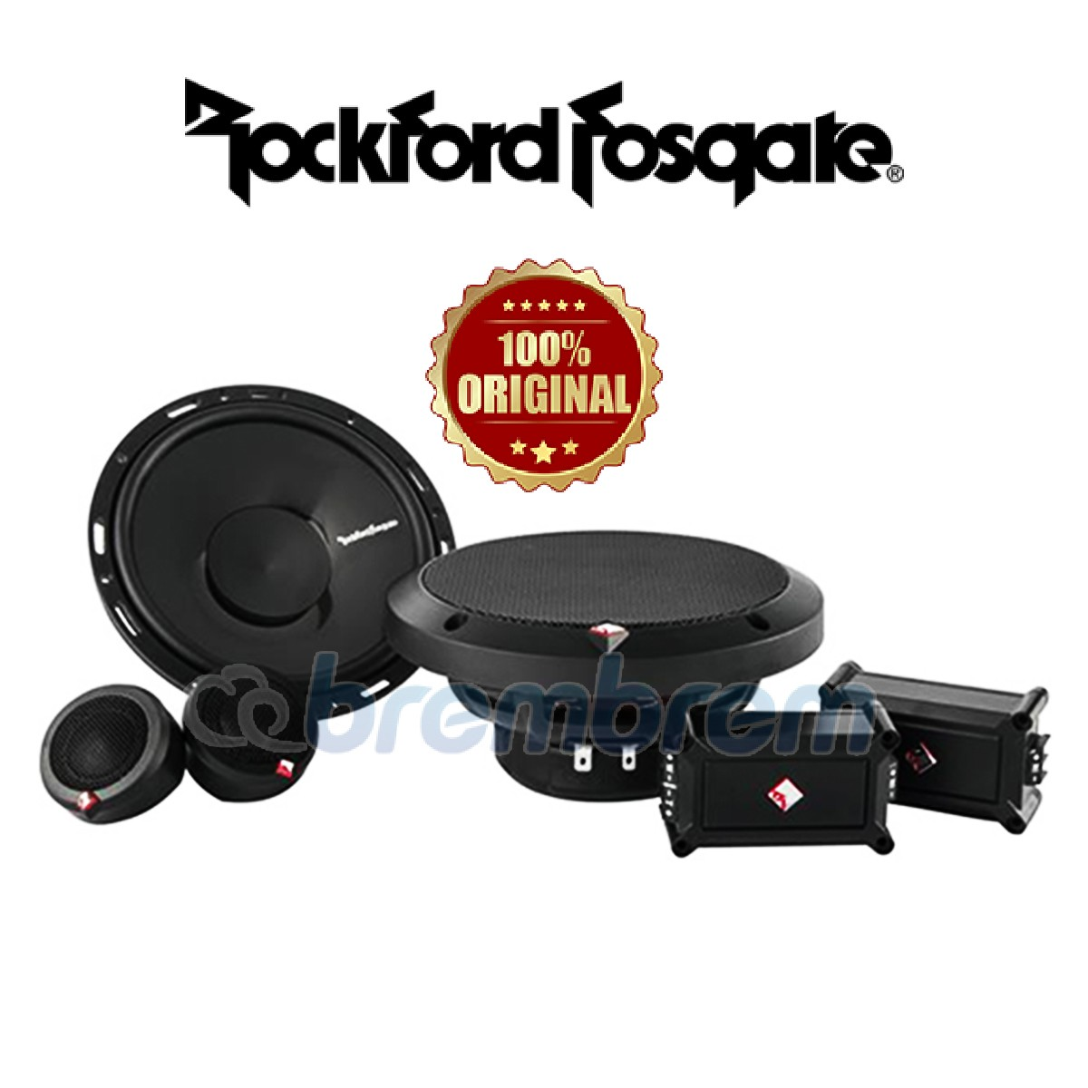 ROCKFORD FOSGATE P165SE - SPEAKER 2 WAY [RECOMMEND]