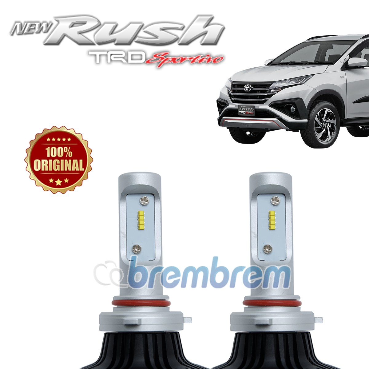 HIRO i-PRECISION H11 - LAMPU LED MOBIL TOYOTA ALL NEW RUSH