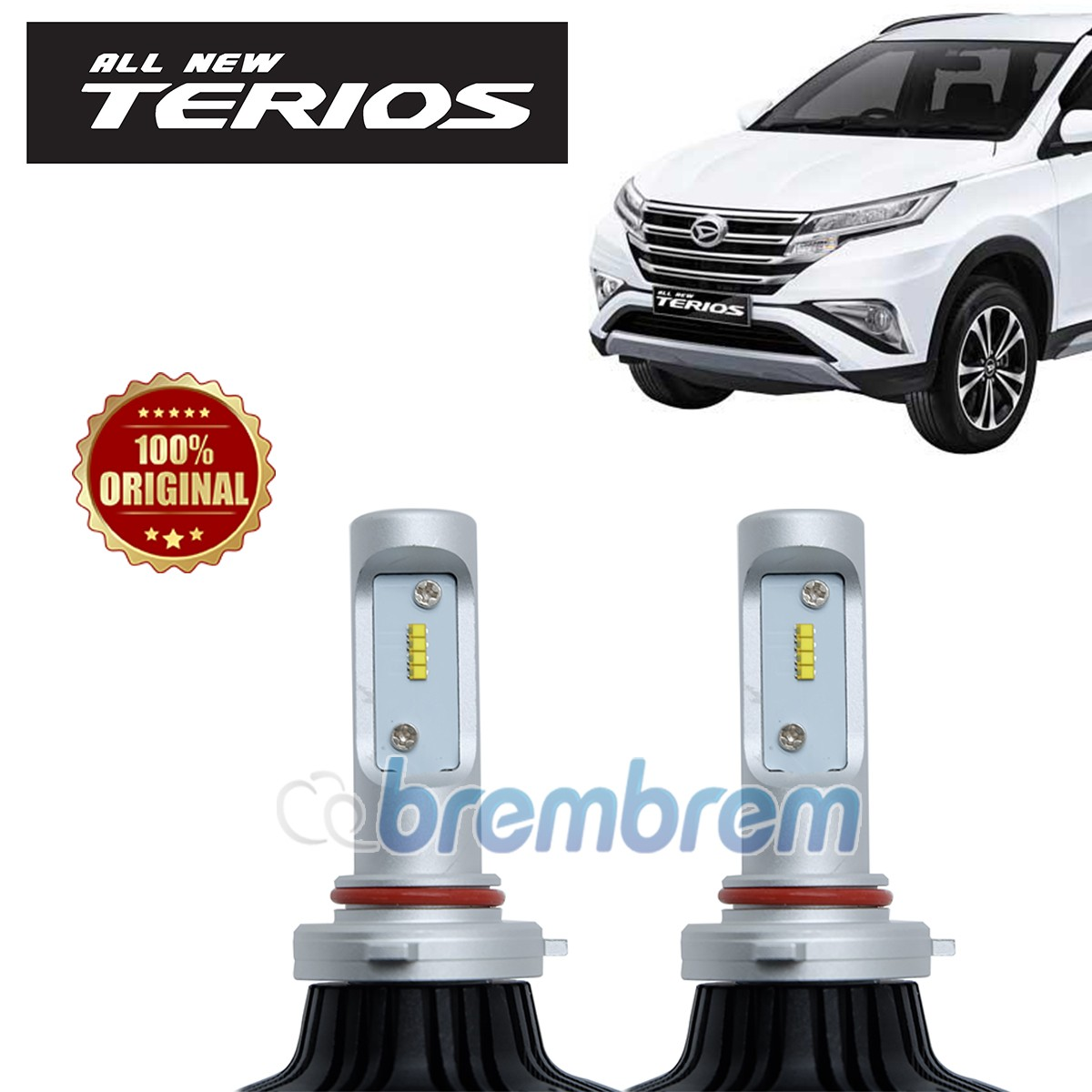 HIRO i-PRECISION H11 - LAMPU LED MOBIL DAIHATSU ALL NEW TERIOS