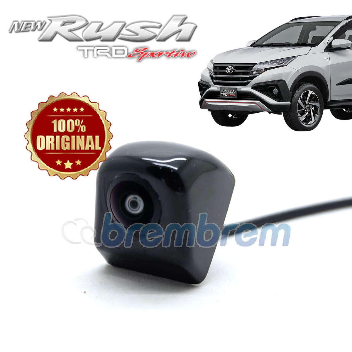 KAMERA MUNDUR HIRO - TOYOTA ALL NEW RUSH