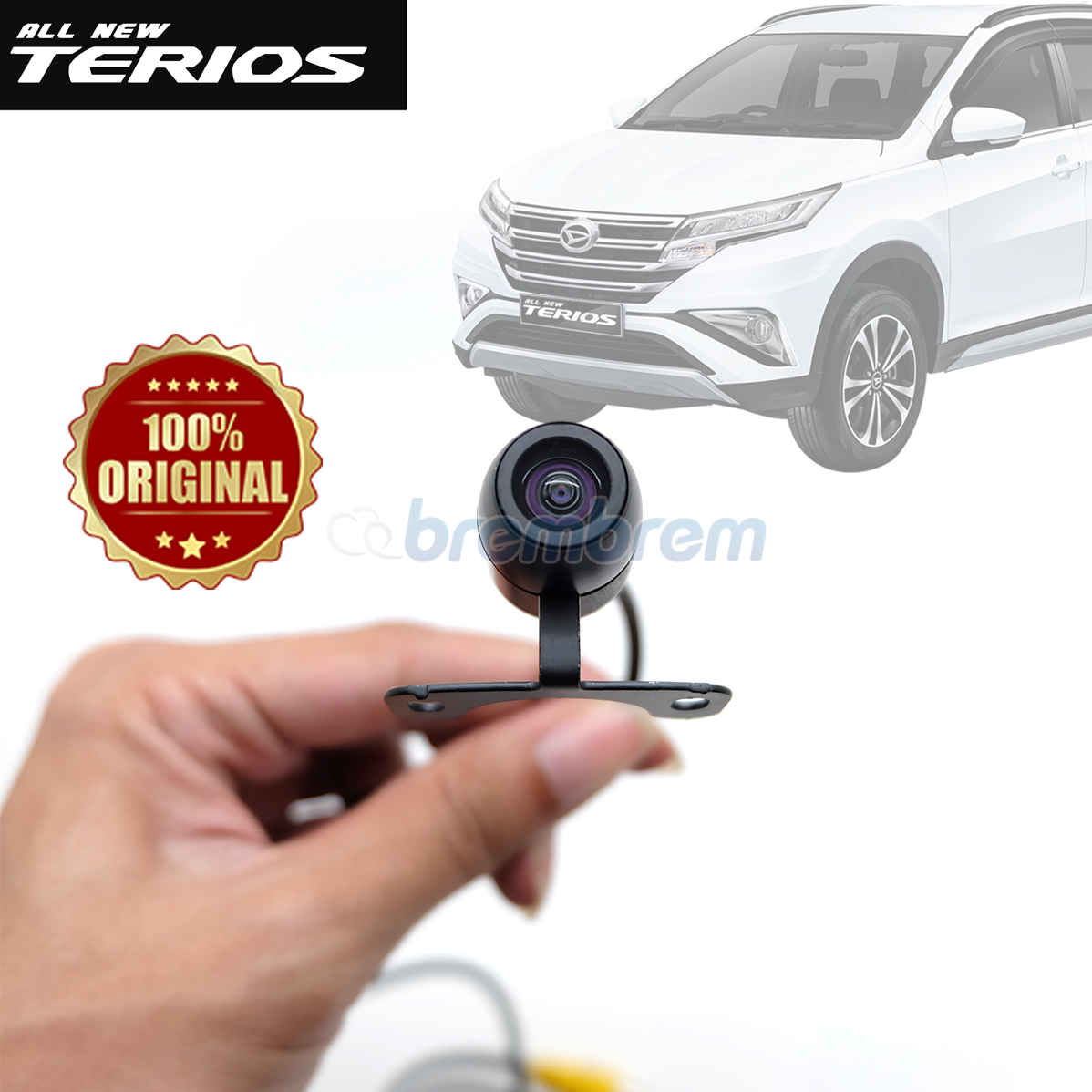 OTOPROJECT - KAMERA MUNDUR BULAT DAIHATSU ALL NEW TERIOS