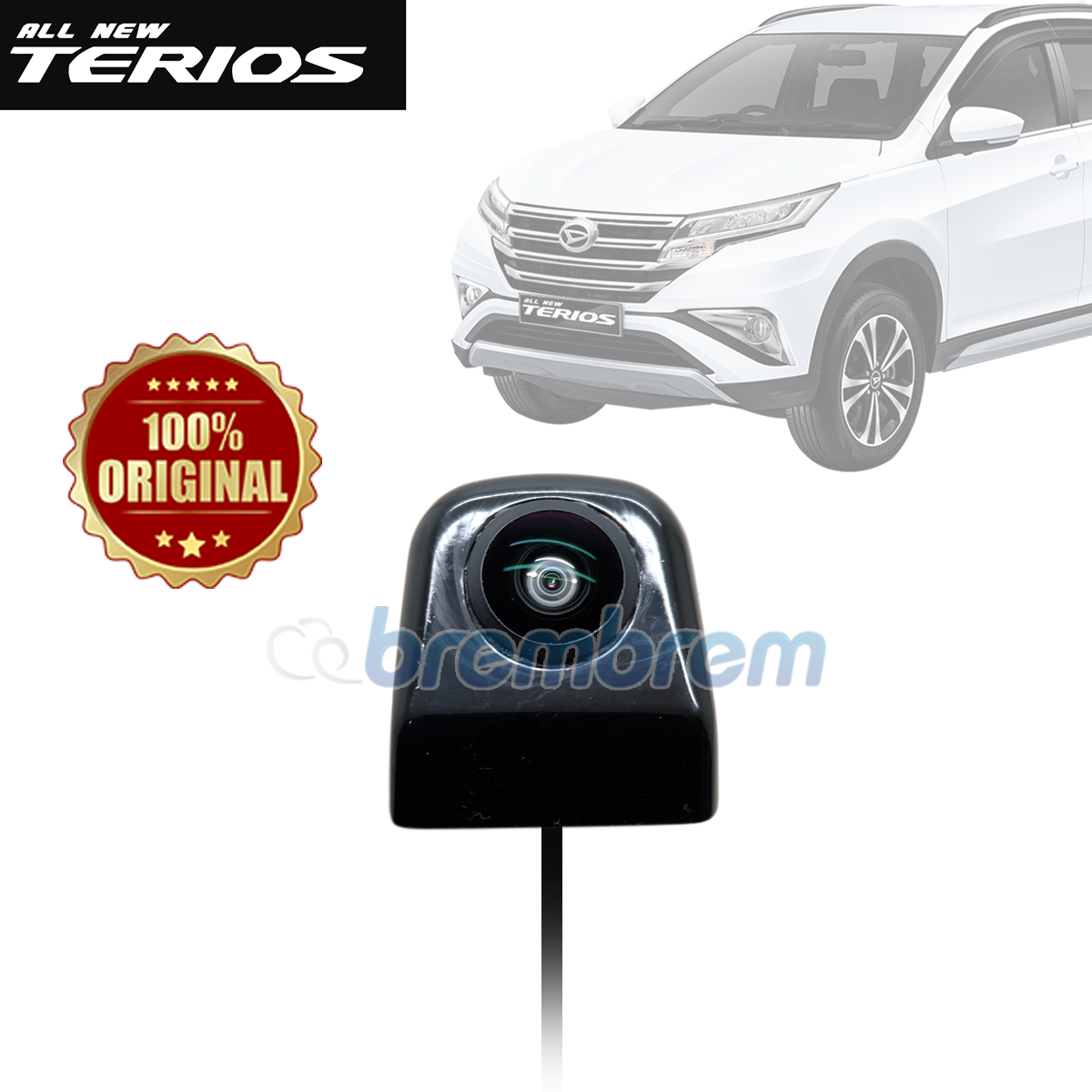 KAMERA MUNDUR HIRO SONY CHIP HD 1080 - DAIHATSU ALL NEW TERIOS