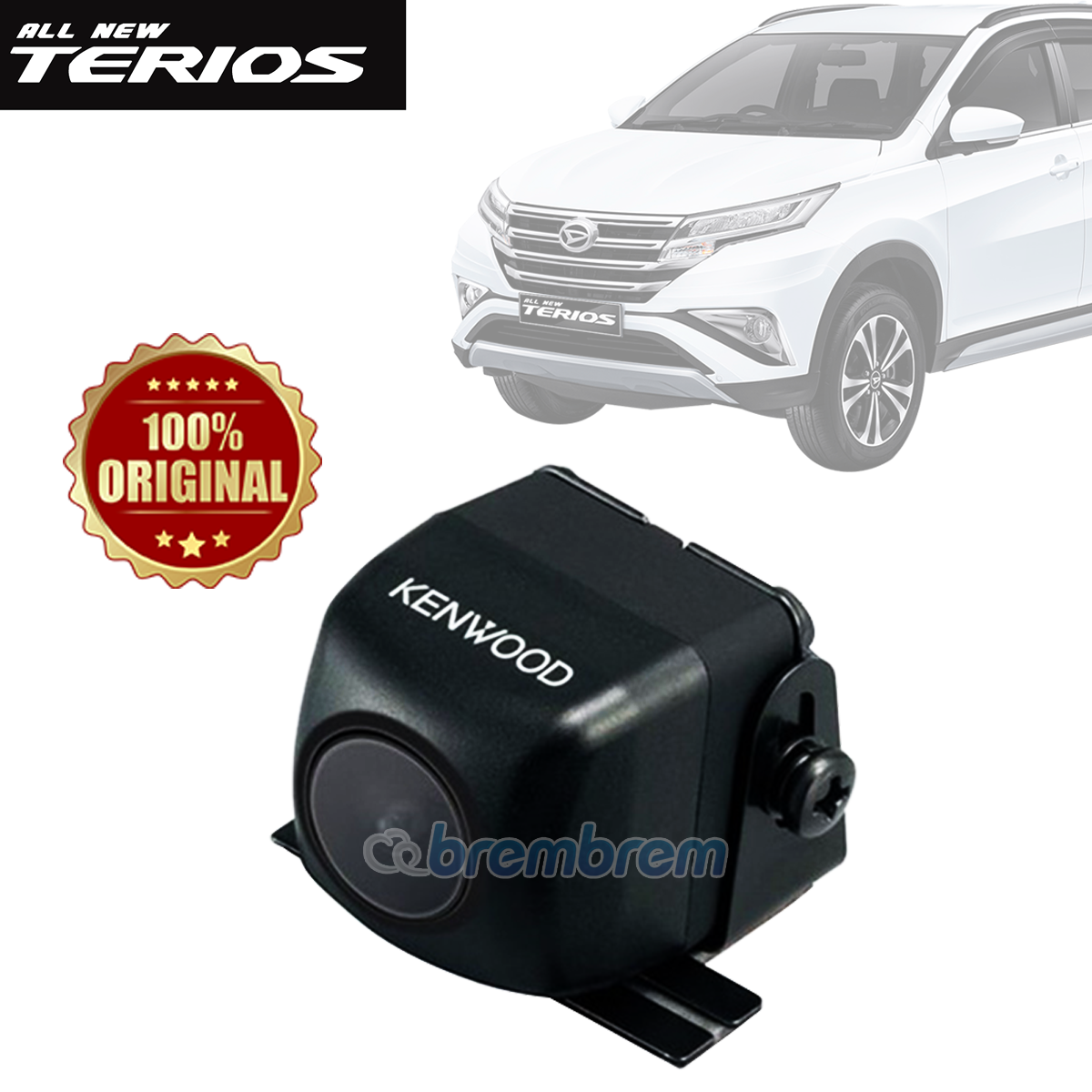 KENWOOD CMOS 130 - KAMERA MUNDUR DAIHATSU ALL NEW TERIOS