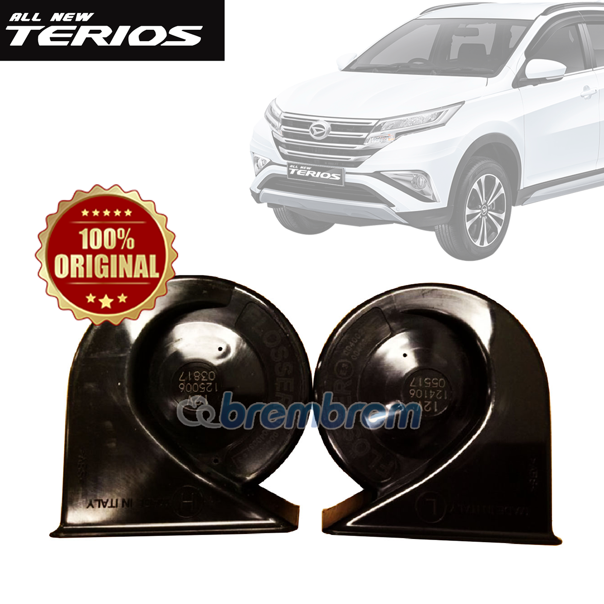 FLOSSER - KLAKSON GERMAN FATFAREN DAIHATSU ALL NEW TERIOS