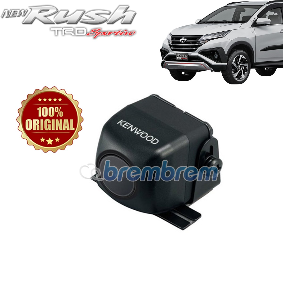 KENWOOD CMOS 130 - KAMERA MUNDUR TOYOTA ALL NEW RUSH